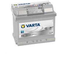 VARTA SILVER-dynamic C6 12V 52ΑΗ ΔΞ ΧΑΜΗΛΗ [ 207x175x175 ]