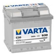 VARTA SILVER-dynamic C30 12V 54ΑΗ ΔΞ FORD, OPEL [ 207x175x190 ]