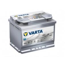 VARTA AGM Start-Stop D52 12V 60ΑΗ ΔΞ BMW, MERCEDES [ 242x175x190 ]