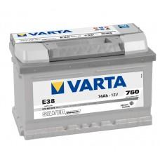 VARTA SILVER-dynamic E38 12V 74ΑΗ ΔΞ ΧΑΜΗΛΗ [ 278x175x175 ]