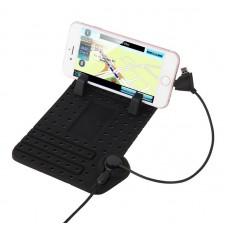 POWERTECH Βάση Φόρτισης Αυτοκινήτου Anti Slip για Smartphone