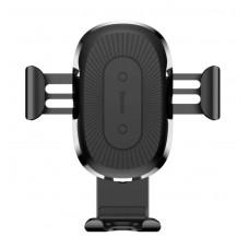 BASEUS ασύρματος φορτιστής και βάση αυτοκινήτου WXYL-01, 10W, μαύρο