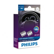 Philips Led adapter CANbus 12V 5w σετ 2 τμχ